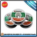 El mejor precio( bk- 100g/1000g) de estaño de soldadura de alambre