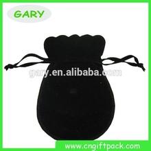 Black Velvet Gift Bags/velvet Evening Bag/ Black Velvet Pouch Bags