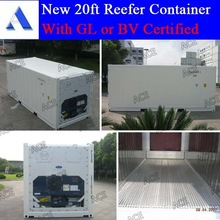 BV GL certified new 20 reefer container