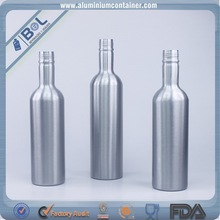 700ml empty aluminum bottle manufacturing plant hot sale frosted