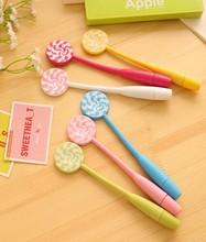 Ball pen in lollipop shape