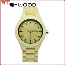 newest design custom cheap wood wrist watch and bamboo watch for women