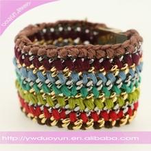 New Trendy Braided Bio Magnetic Bracelet For Women