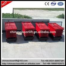 Hydraulic ladder lift/scissor platform