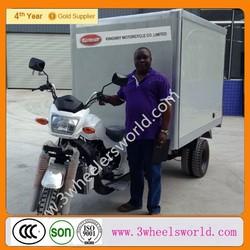China 200cc three wheel Refrigerator truck/Refrigerator Cooling Box Cargo motor tricycle