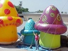 cartoon inflatable bouncer slide rental