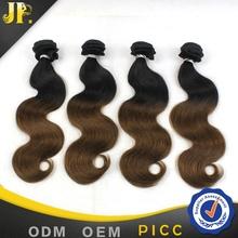 Factory price best quality ombre kanekalon braiding hair brazilian body wave hair