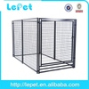 low price low MOQS welded wire mesh dog crate wood