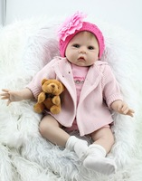 20 Inch fake baby dolls look real gentle touched reborn baby dolls real doll