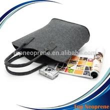 Custom Wool Felt Tote Bag Felt Shopping bags