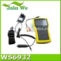 Satlink WS-6932 HD Spectrum A alyzer Satellite Finder Meter DVB-S/S2 WS6932