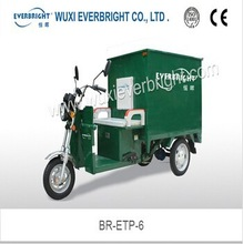 850w cargo used electric mobility tricycle with cabin for sale