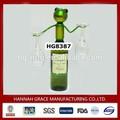 Métal grenouille drôle. titulaire verre à vin comme cadeaux
