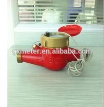 High quality multi jet water meter class b standard