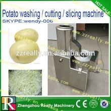 multifunctional electric cassava/potato chip spiral cutting machine