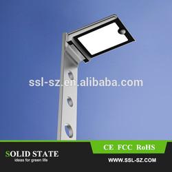 2014 new products 2.5w pir sensor led solar garden lighting