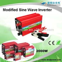 Modified sine wave power inverter 2000 watt 12 volt dc to 220 volt