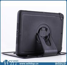 Fashionable Cover Case For iPad Mini Case, Business Style Stand TPU & PC Protector Case For iPad Mini 1/2/3