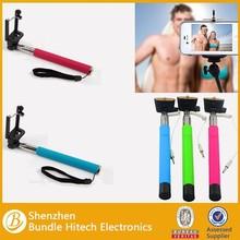 Colorful Smartphone Monopod Selfie Stick,Handheld Monopod for Camera , Wireless Monopod china supplier