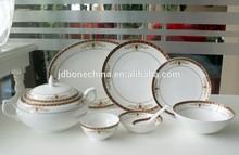 durable unique design fashionable fine bone china Indian style dinner ware