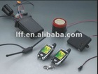 Motorcycle two way LCD alarm system new system with remote engine start