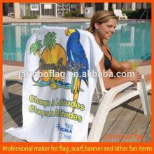 soft beach towel wedding favors