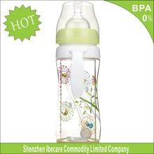 Wholesale colorful design BPA free feeding baby bottle avent bottles