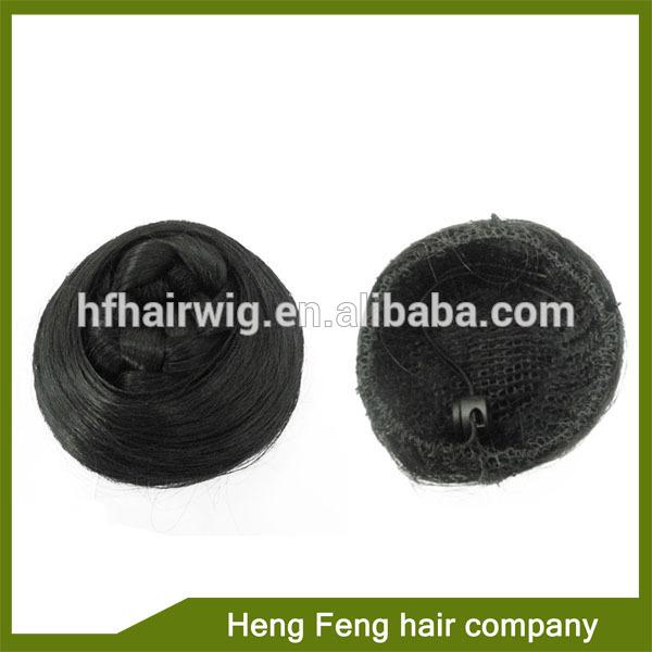 Black Hair Bun Pieces Fake Hair Bun Black Hair Bun