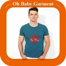 custom men fashion t shirt / wholesale 100% cotton man tshirt