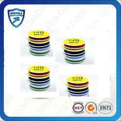Hot sell adhesive 13.56Mhz passive rfid s50 nfc tag