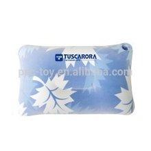 2014 fashion design pvc flocked inflatable travel pillow