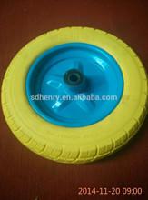 solid pu foam rubber wheels