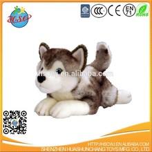 Promotional custom plush toy,Promotional custom cuddly plush husky dog