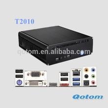 Mini desktop PC with Intel Pentium Processor G2010 onboard, dual core mini pc 2.8Ghz, 4GB RAM mini pc 1TB HDD
