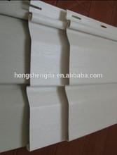 Plastic Outdoor Vinyl Siding ,PVC External Wall Panel,PVC Wall Clading