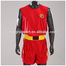 martial arts high quality sanda uniform for competition