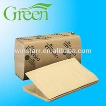 kraft single fold towel paper OEM