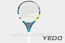hottest tennis racket! China 2014 new OEM carbon fiber graphite baby tennis racket