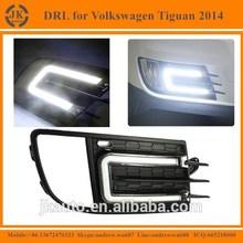 Best Selling Car Specific LED DRL Fog Light for Volkswagen Tiguan Waterproof LED Daylight for Volkswagen Tiguan 2014