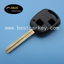 Topbest car key replacement Toy40 for replacement key toyota 2 buttons