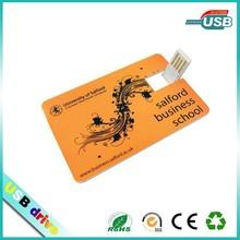 Low price promotional card usb flash drive usb 2.0 usb pen drive