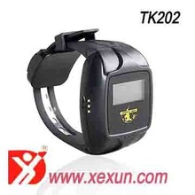 Gps tracker for persons and pets with Wristwatches Wrist Watch ALL THE WAY GPS Watch Tracker Black Outdoor Watch