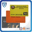 High Quality Plastic RFID Hotel Key cards With Chip inside