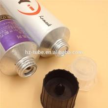 hair dye aluminum packing tube