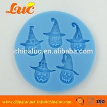 3D Fondant Cake Cupcake Mould Pumpkin Halloween Silicone Mold
