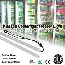 V shape 30W built-in driver DLC led cooler light Freezer Light