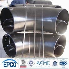 b16.9 90deg long radius elbow carbon steel a234 wpb black painting