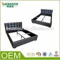 ダブルベッド、 キングサイズのベッド、 キングサイズのベッドチーク材