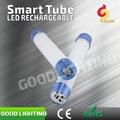 Goodlighting de natal tubo de luz recarregável inteligente tubo artigos de natal atacado