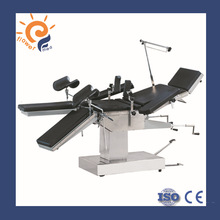 Clinics Apparatus operating table